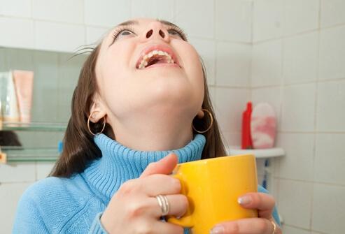 Полоскание горла при простуде беременным 43