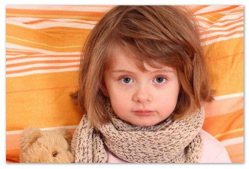 У годовалого ребенка болит горло - Боли у ребенка