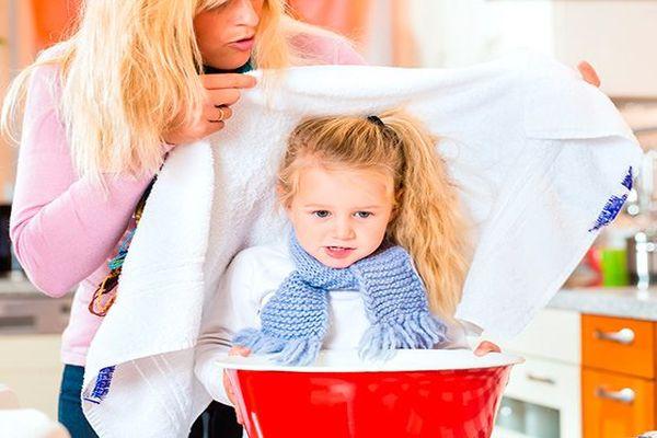 ингаляция у ребенка