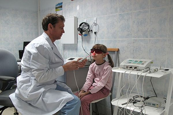 лазерная процедура на аденоидах