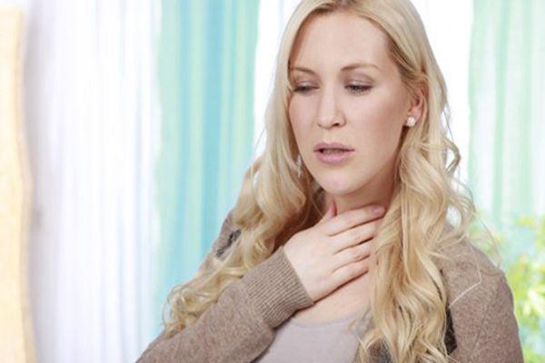недомогание в горле