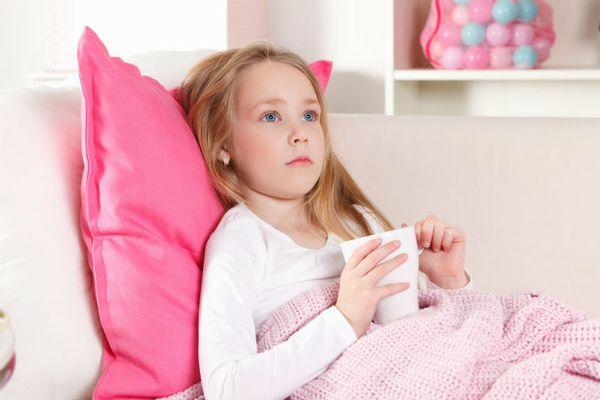 простудное заболевание у девочки