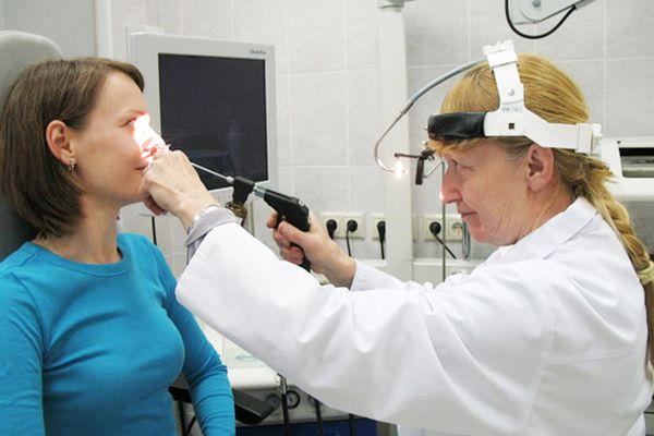 процедура на аденоидах