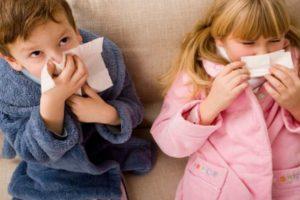 у детей аденоиды