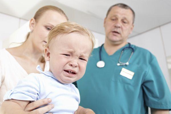 ребенок лечится в больнице