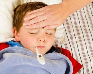 у мальчика температура