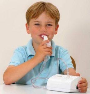 ингаляции при боли в горле небулайзером
