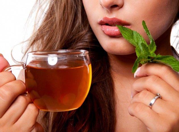 травяной чай от горла