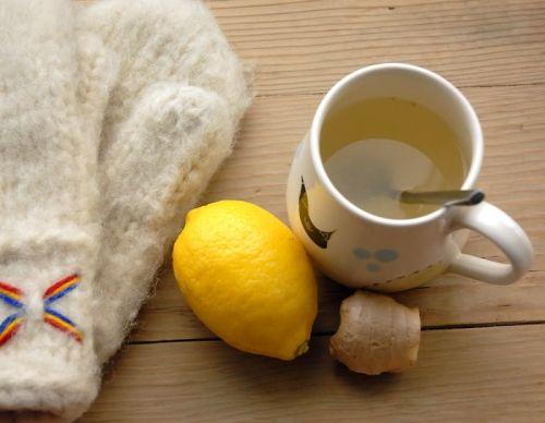 чай с лимоном от горла