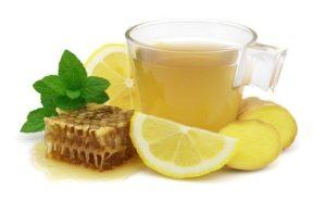 мед и лимон от горла