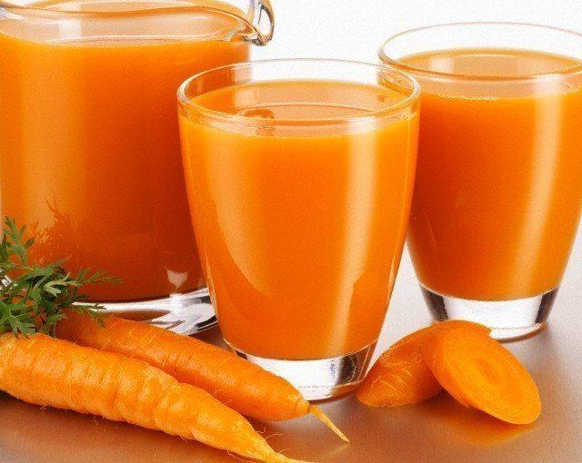 соки моркови