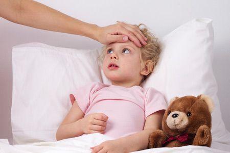 у ребенка поднялась температура