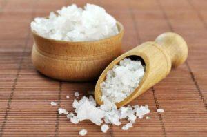 моская соль для горла