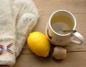 лимон от горла
